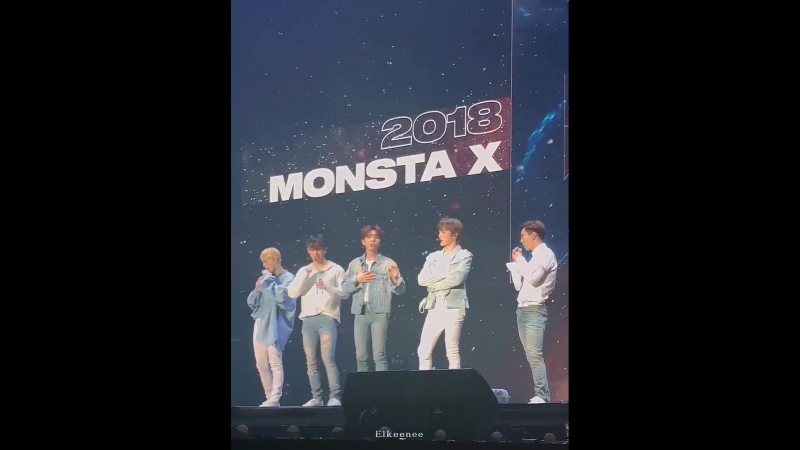 [VK][180526] MONSTA X fancam Talk Time @ The 2nd World Tour The Connect in Seoul D-1