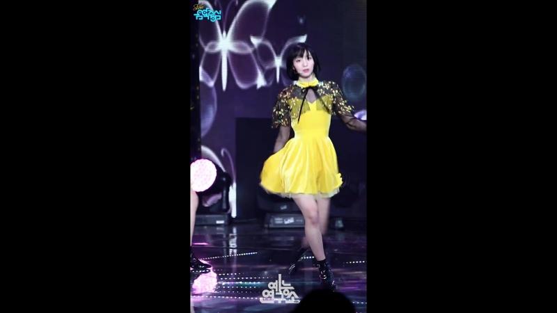 · Fancam · 180127 · OH MY GIRL - Secret Garden (Binnie focus) · MBC Music Core ·