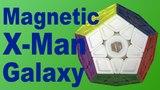 Magnetic X-Man Galaxy V2 Megaminx Unboxing