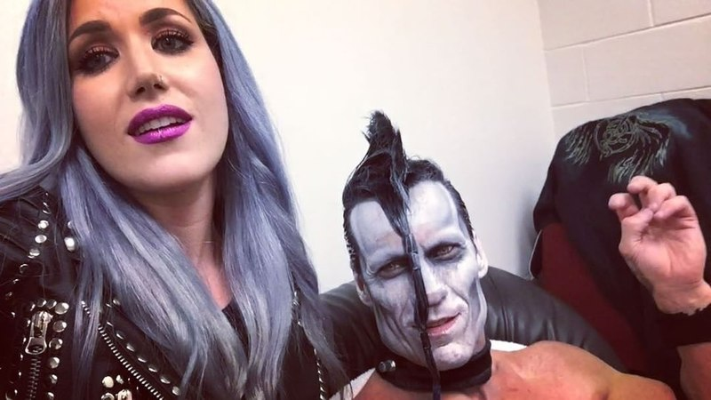 "Alissa White-Gluz on Instagram: ""Come say hello! TONIGHT from 5-7pm! misfits doylewolfgangvonfrankenstein archenemy @doylewolfgangvonfrankenstei..."