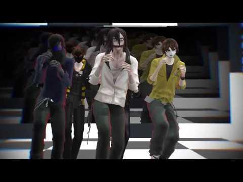 [MMD/Creepypasta] Fun! - Jeff, EJ, Toby, Hoody Masky