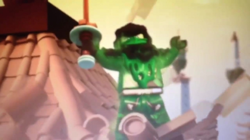 Клип лего ниндзяго!(Морро Monster)