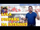 Após prisão, apoio a Lula dispara na internet