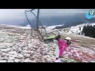 Поехали кататься на лыжах