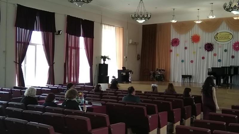 Республиканский конкурс вокального исполнительства Песни, опалённые войной 20.04.2018 г.Феодосия
