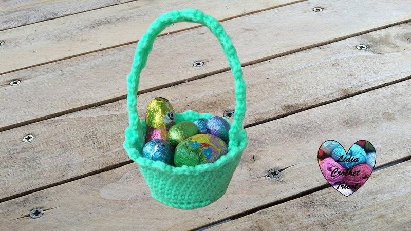 Panier de Pâques crochet