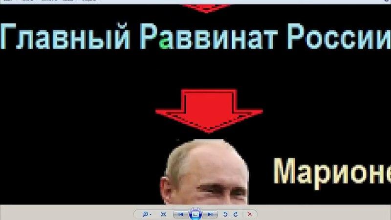 Схема иудейской оккупации Руси