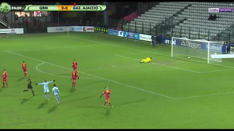 Гол Баамбула в ворота Кевийи-Руан (19/01/2018)