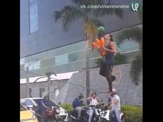 Выступление на светофоре