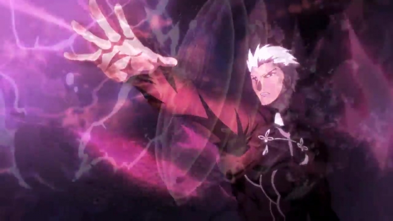 Fate-stay night (AMV) Archer vs Lancer- Арчер против Лансера (АМВ)
