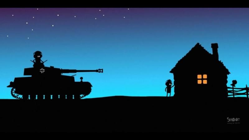 Мультик про World Of Tanks. Истории танкистов. Pz. IV. part 2