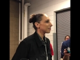 #USABWNT veteran, Diana Taurasi, shares her thoughts on how training camp went overall, the leadership on the team, and playing
