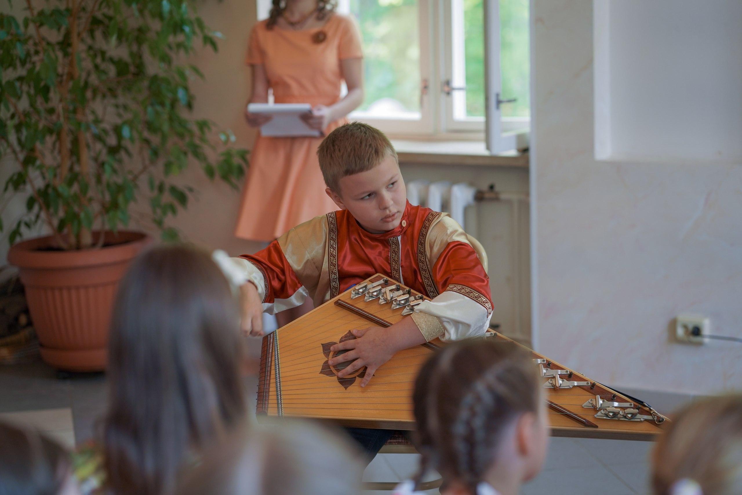 Пасхальный концерт Воскресной школы храма святых Космы и Дамиана