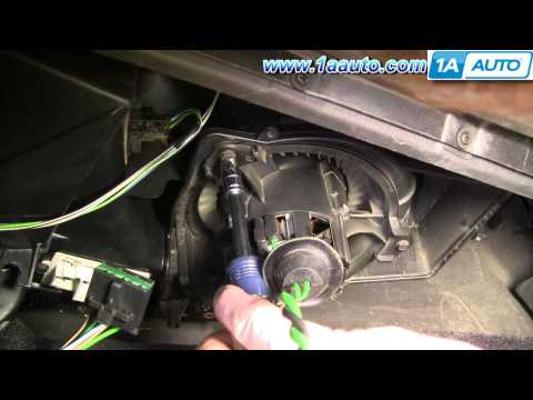 How To Install Repair Replace AC Heater Fan Blower Motor Dodge Intrepid 98-04 1AAuto.com