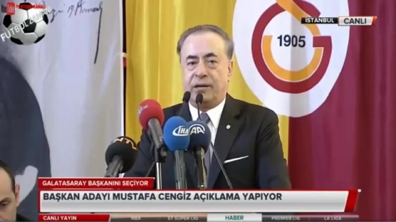 Dursun Özbek, Mustafa Cengiz ve Ozan Korkut Secim Konuşması 26 Mayıs 2018