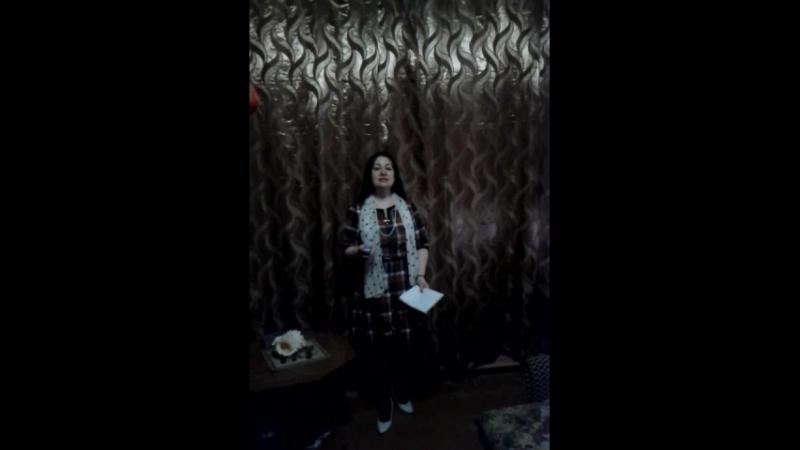 Домашнее дублирование Сонет №121 пела в лит муз гостиной Союза писателей сегодня 19 04 2018