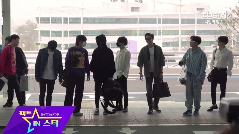 {MEDIA} BTS at Incheon Airport Heading to LAX, Los Angeles for Ellen Show and BB