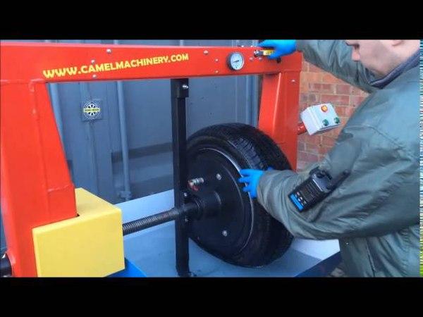 Tyre Pressure Testing Machine with Aqua System
