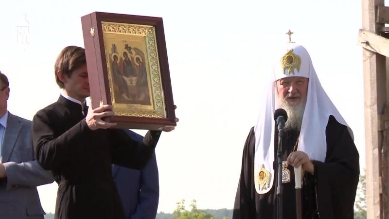 Визит в Батурино. Антонин Капустин. А также Далматовский монастырь. Патриарх Кирилл