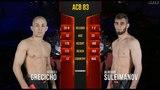 ACB 83: Alikhan Suleimanov vs. Sergej Grecicho
