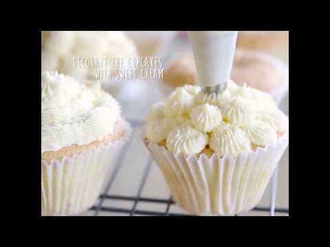 [스킨푸드] 바닐라 컵케이크 with 포어 핏 쿠션