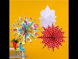 Снежинки из бумаги l Lucky Craft – подпишись!