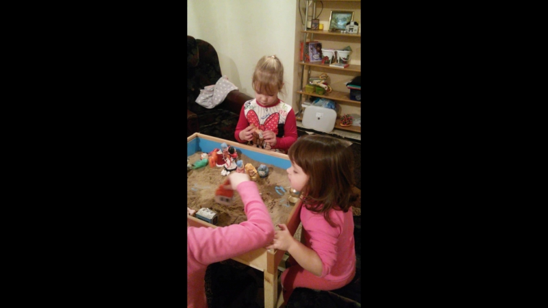 Детская группа / песочная терапия