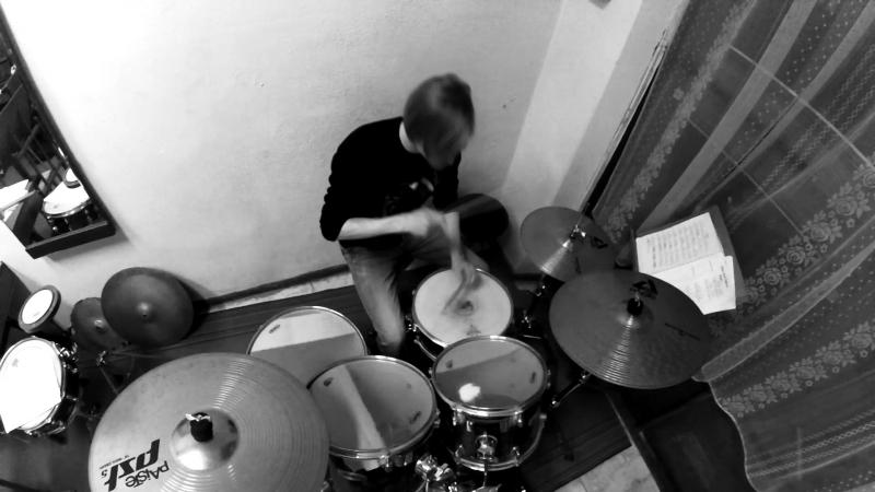 Танцы Минус - половинка (Drum Cover)
