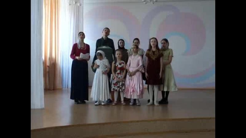 С Пасхальным концертом в школе-интернат Берег надежды