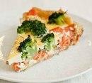 Очень полезный ужин: запечённый лосось с брокколи