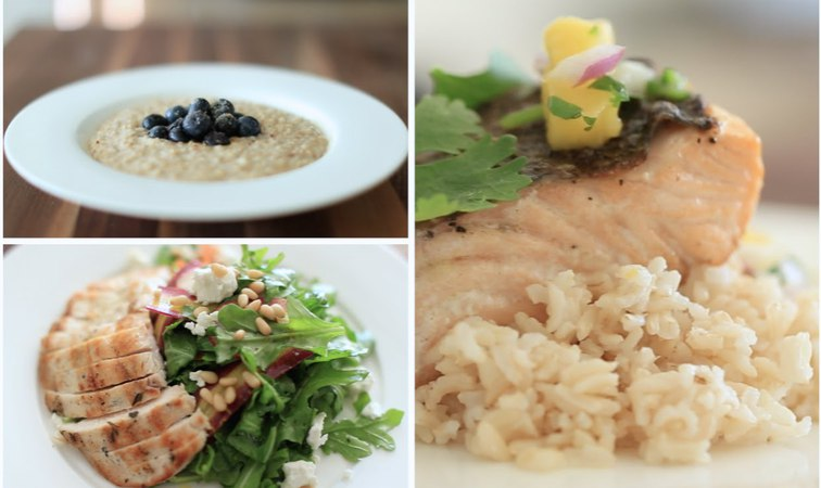My 3 FAVE Healthy Meals (Breakfast, Lunch Dinner) | Rachel Talbott