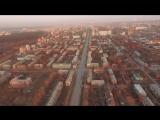 Осенний закат. Пермь.