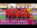 Chile vs Paraguay 04 04 2018 Copa América Femenina 2018