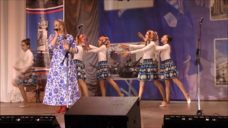М.Земцова и хореографический коллектив