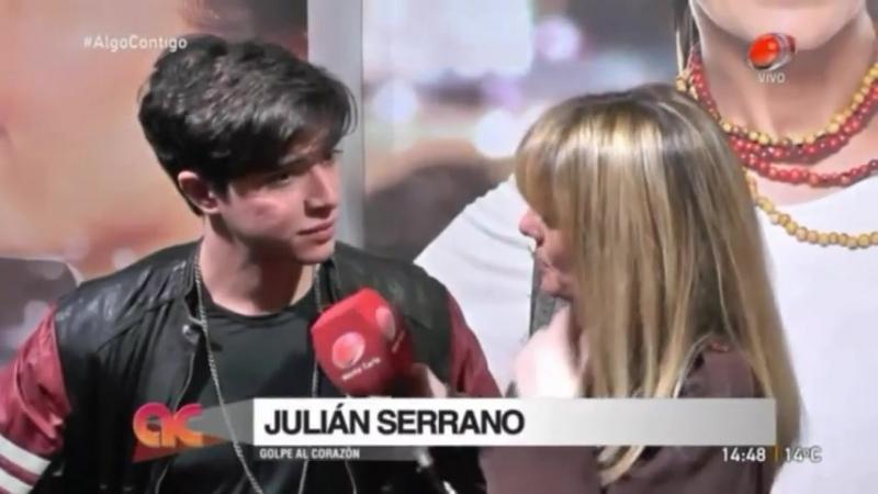 """Entrevista a Julian Serrano para el programa """"Algo contigo"""""""