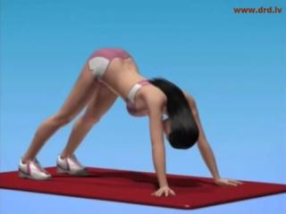 Лечебная гимнастика для профилактики остеохондроза