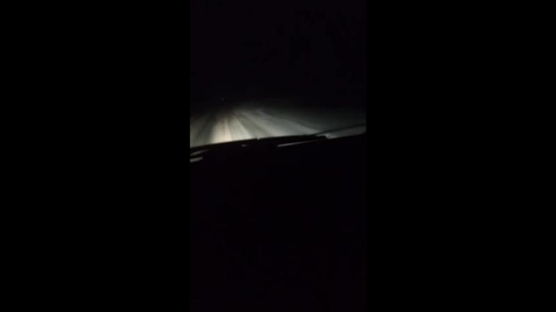 не чищена дорога Рязань-Пронск-Скопин