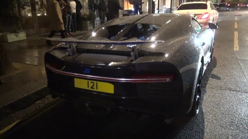 CoD | BRAND NEW Bugatti Chiron in London with a $500k FULL CARBON paintjob!!