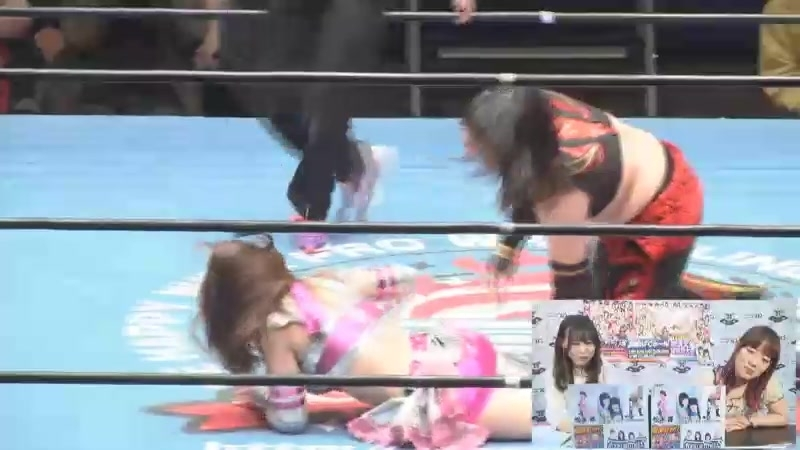 Nao DATE, Giulia vs. Hana DATE, Mai Mizuochi (Ice Ribbon - New Ice Ribbon 875 ~ March 2018)