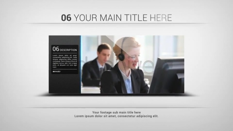Clean Slideshow – Project for After Effects (Videohive) After Effects CS4, CS5, CS5.5, CS6 | 1920×1080 | png, Tutorial | 35 MB