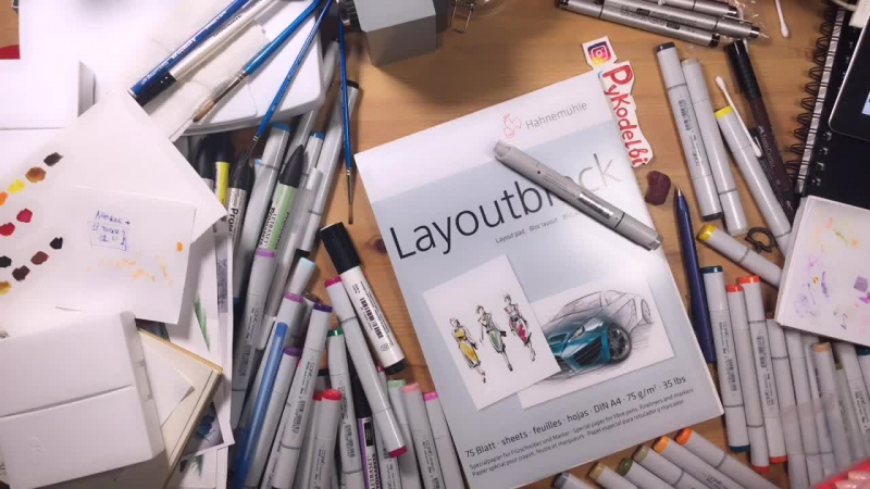 Drawing stream preview illustration cute cartoon artwork drawing markers copic draw sketch