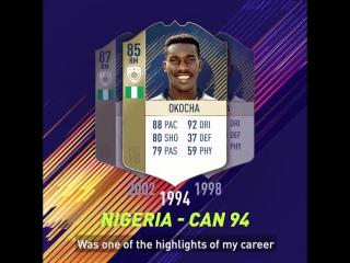 FIFA 18 - FUT ICONS Stories - Jay-Jay Okocha