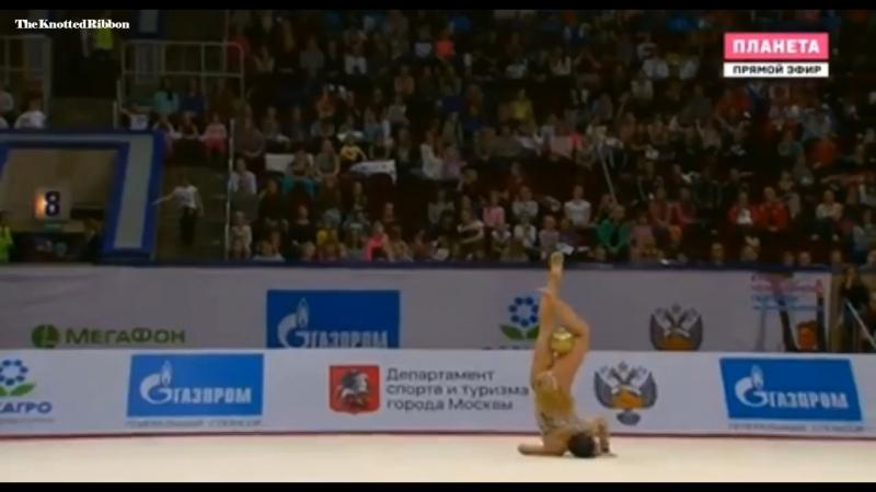 Саломе Пажава - Гран-При Москва 2018, мяч