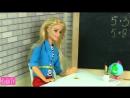 IKuklaTV ❤ Игры в Kуклы со Слоником ❤ ЗА ЧТО ДВОЙКА Мультик Барби Про школу Школа Куклы для девочек Игрушки