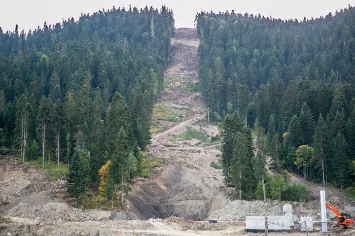 В Зеленчукском районе началось строительство новой канатной дороги
