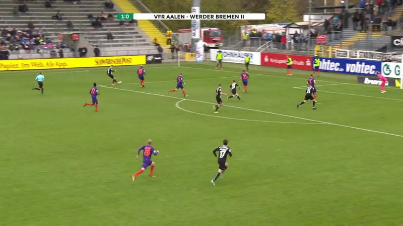 Highlights VfR Aalen vs. SV Werder Bremen II