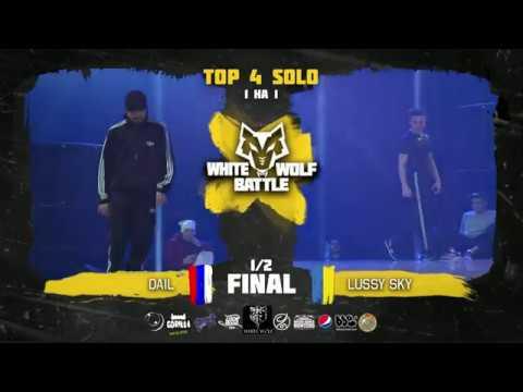Dale VS Lussy Sky ✘ SOLO 1/2 final ✘ White Wolf Battle 2018
