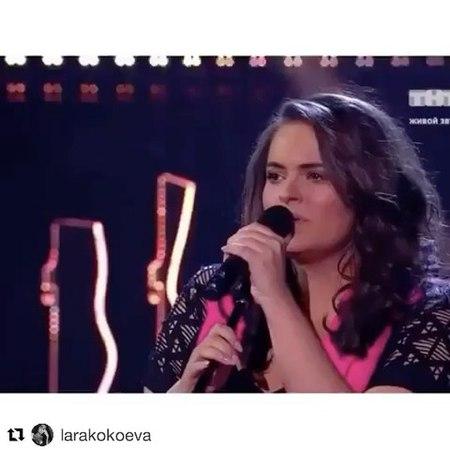 """Таисия Вилкова, 21 y/o on Instagram: """"Друзья, скорее голосуйте за Лару! Когда Лара поёт, боги спускаются послушать. Серьёзно. В наших силах сделать..."""