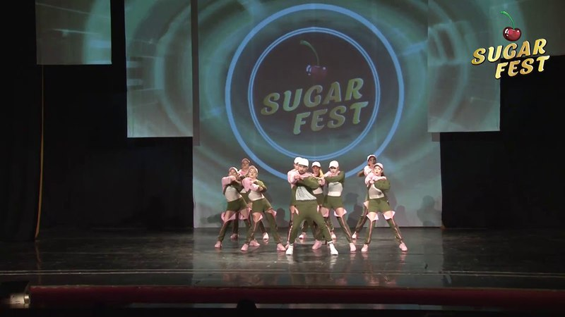 MAINSTAY DANCE TEAM 🍒 HIP-HOP CREW ADULTS BEGINNERS 🍒 SUGAR FEST. Dance Championship