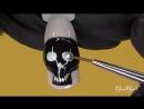 Мастер-класс Гламурный череп к Хэллоуину